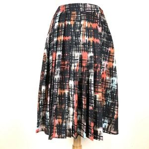 Anthropologie FYNN and ROSE Skirt Abstracted Plaid
